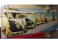 Camper van wall canvas