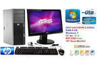 Complete Desktop PC XEON CORE 2.56Ghz + 8GB Ram + 500Gb + 19''Screen + FREE Delivery