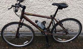 """Apollo Urban"" gents bike. Brown frame road bike. 24"" wheel. Suit youth or shorter man."