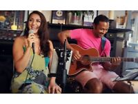 Acoustic Duo available for parties, bars and pubs