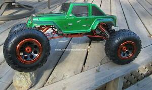 New RC  Rock Crawler Truck  1/8 Scale with 4 Wheel Steering City of Toronto Toronto (GTA) image 2