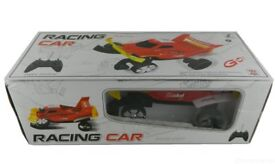 Radio Remote Control Amphibious Off Road Race Car RECHARGEABLE GO ON LAND GRASS WATER [Colours vary]