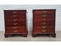 Pair Of John Austin Bedside Cabinets (DELIVERY AVAILABLE)