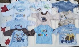 Boys tops, newborn & 0-3