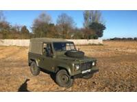 Land Rover 90 soft top Ex military 200tdi defender