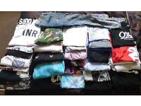 32 Items of Mens Clothing - Dope Chef, Innercity, Penguin, Huff, Lyle & Scott Plus More....NO OFFERS