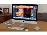 "Like New Apple iMac 27"" INTEL i7 2.93Ghz 8GB Ram 1TB in the Box"