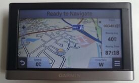 "5"" GARMIN Nuvi 2557LMT GPS Sat Nav ALL EU LIFE 3D BUILDING MAP & TRAFFIC Updates (no offers!)"