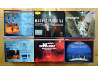 Six Stereo Boxed sets of Wagner operas -------- Postage included!