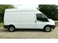 FORD TRANSIT LWB HIGH ROOF --NO VAT-- 2012 FULL SERVICE HISTORY MERCEDES SPRINTER IVECO DAILY