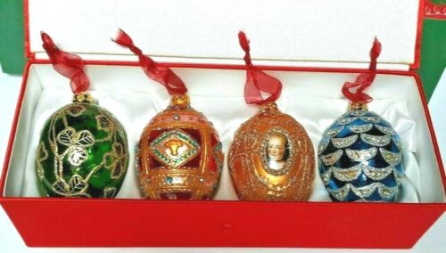 JOAN RIVERS 1st EDITION,2007 CLASSIC COLLECTION,4 SEASONS EGG ORNAMENT CHRISTMAS