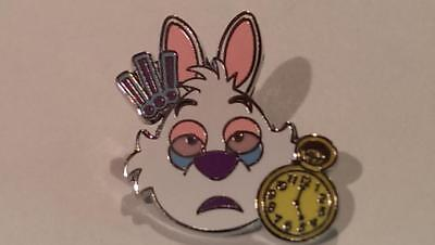 Disney Trading Pins-2017 Emoji Blitz-White Rabbit-I'm Late