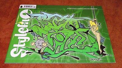 """Graffiti Magazine """"STYLEFILE"""" #42 11/2013 Junglefile Montana Belton Trains"""