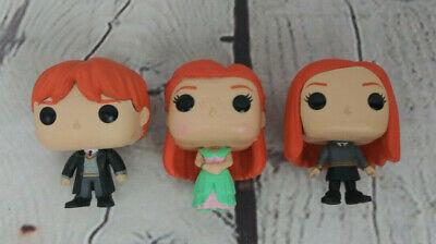 Ron & Ginny Weasley Lot Mini Funko Pop Vinyl Figure Harry Potter Advent Calendar