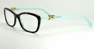 39191019a1e9  125.67 - Tiffany   Co Women s Eyeglasses TF 2074 8134 Havana   Blue Frame  52 mm
