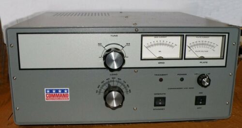Commander VHF-1200 Six Meter Linear Amplifier 50-54 MHz