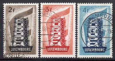LUXEMBOURG  USED 1956 SG609-11 EUROPA