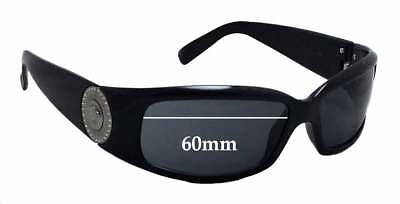 SFx Replacement Sunglass Lenses fits Versace VE 4044B - 60mm wide
