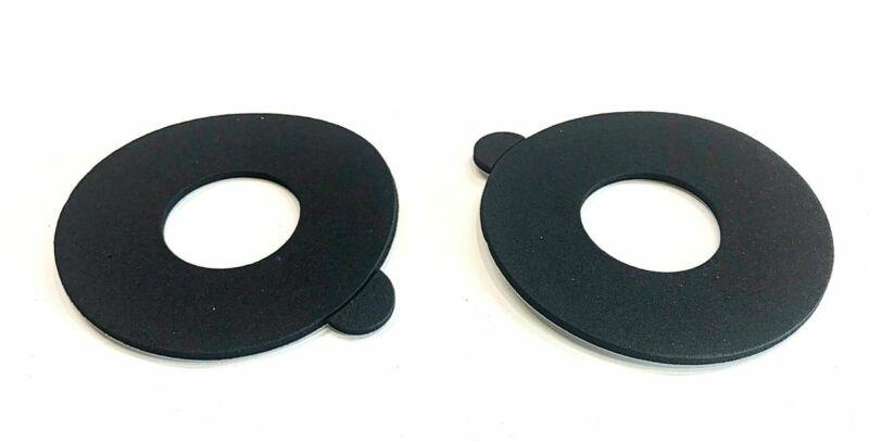 JBL, LE25 Tweeter OEM Hard Black Foam Replacement Diffuser/ Trim Ring Pair