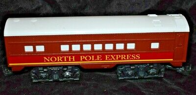 North Pole Express Passenger Car Tender 0 Gauge From Christmas Train Set