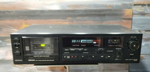 Denon DR-M11 Single Deck Cassette Player/Recoder Made in Japan *FULLY REFURBISED