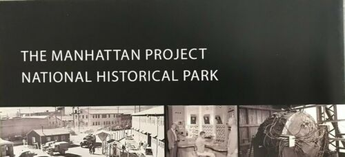 New THE MANHATTAN PROJECT NHP   NATIONAL PARK SERVICE UNIGRID BROCHURE  Map