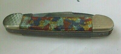 Vintage Fight'n Rooster 3 Blade Folding Pocket Knife - Frank Buster Cutlery Co.