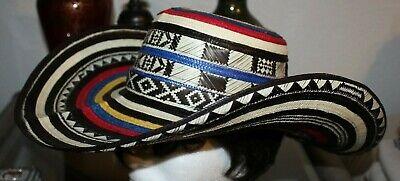 COLOMBIAN HAT~~FINO SOMBRERO VUELTIAO~~COLOMBIA, CUSTOM DESIGN -M -L-XL - Custom Sombrero
