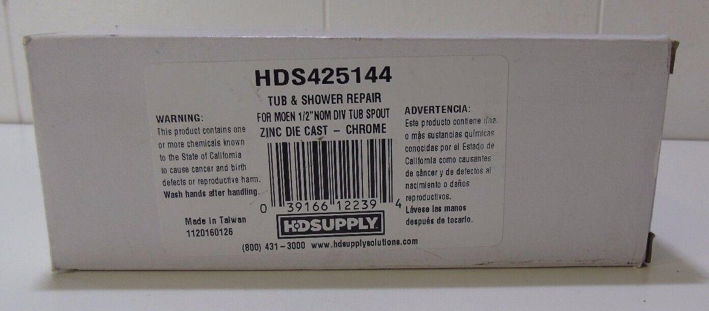 """HD SUPPLY Tub & Shower Repair for Moen 1/2"""" NOM DIV Tub Spout (108242-1 J)BBB7"""