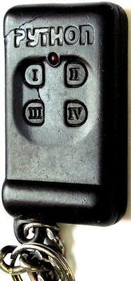 Python Keyless remote alarm EZSDEI494 Fob transmitter clicker entry starter RED (Viper 300 Alarm)