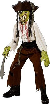 Zombie Alley: Cut Throat Pirate Boys Child Costume](Pirates Costumes For Boys)