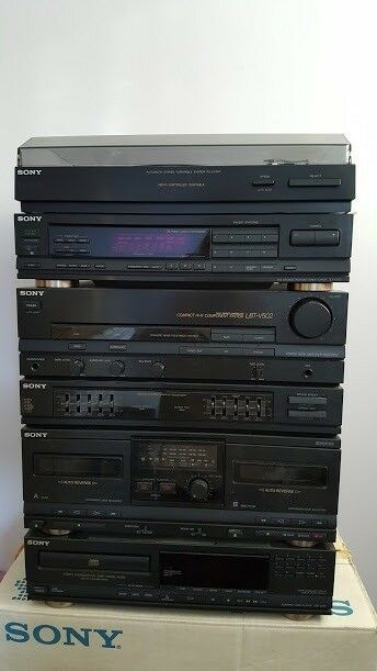 Sony music system (purchased 1990) | in Poole, Dorset | Gumtree
