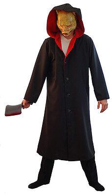 Jigsaw Kostüm (HALLOWEEN/Horror/Evil/Creepy/ PORK CHOP-JIGSAW PIG-SAW JACKET & WEAPON)