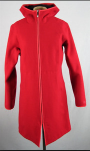 Arc'teryx Women's Medium Red Wool Coat.