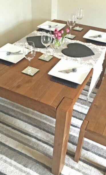 NEXT HARTFORD/KENDALL DINING TABLE BENCH SET