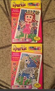 Sparkle mosaic by number sticker Oakville / Halton Region Toronto (GTA) image 1