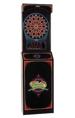 Bullshooter Arcade Style  Dartboard Cabinet w/ Cricket Pro 650 Electronic Game