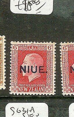 NIUE  ((P1701B) KGV 6D-    SG30    MOG