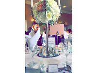 Wedding table wear for wedding breakfast