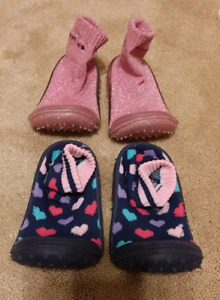 EUC tickle toes size 8 sock shoe!