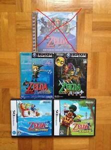 Jeux Japonais de Zelda