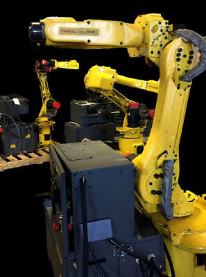 Fanuc M-6i Robot With Rj2 Control Tested Fanuc Material Handling