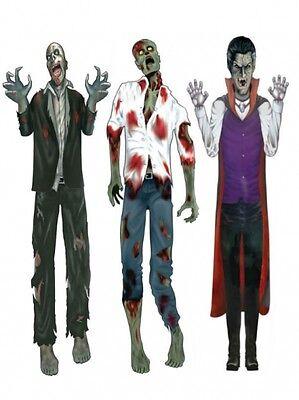 Decoracion Halloween Zombie (Vampiro Halloween Corte Zombi 152cm Accesorio para Fiesta Decoraciones de)