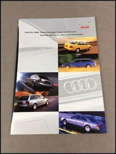 1999 Audi 36-page Original Car Sales Brochure - A4 A6 A8 quattro avant