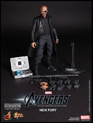The Avengers Movie 12 Inch Doll Figure - Nick Fury Hot Toys