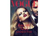 Vogue Paris rare issue TOM FORD cover
