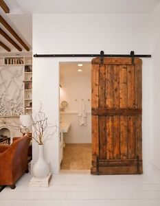 LOOKING FOR a sliding barn door kit