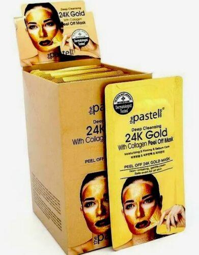 The Pastel Shop Peel Off 24K Gold Collagen Peel Off Mask Kor