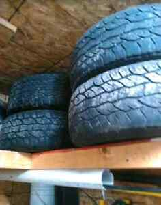 BEST OFFER ford 6 bolt rims with good tires