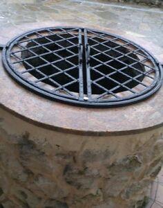puits grille de protection en fer forg fer plat de 20x10 mm ebay. Black Bedroom Furniture Sets. Home Design Ideas
